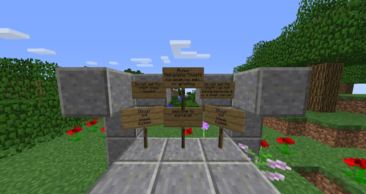 Pure SurvivalCraft Minecraft Server