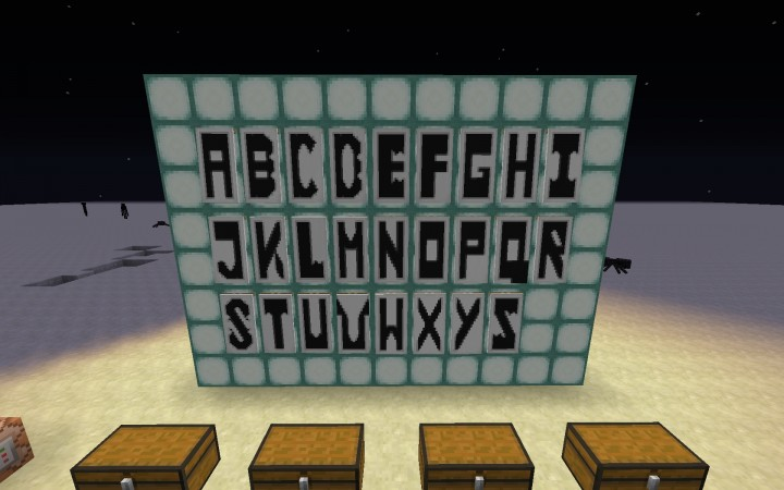 How To Make Banner Letter Mc