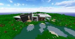 A Medium Sized Modern house :) Minecraft Map & Project