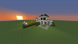 MiniModern House Minecraft Map & Project