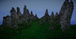 Mountain peak by Lutai_San Minecraft Map & Project