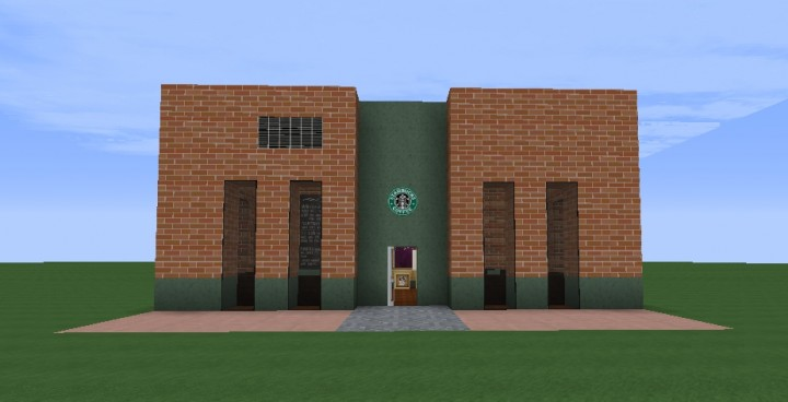 Realistic Starbucks Interior Texture Pack Minecraft