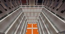 Three-Dimensional Spleef Minecraft Map & Project
