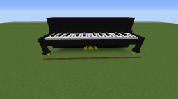 Upright Piano (Actullay Plays!) [1.8] Minecraft Map & Project