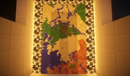 AMAZING MAP!! rivers, many temples, giant desert!! Minecraft Map & Project