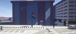 Dutch Police station Minecraft Map & Project