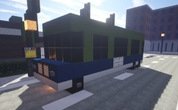 Dutch bus and bus stop Minecraft Project