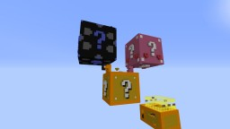 LUCKY BLOCK burning map Minecraft Map & Project