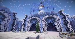 """Massive Ice-Themed Hub for """"Frosted Network"""" Minecraft Map & Project"""