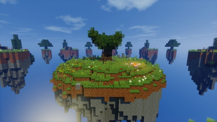 Skywars map thetree thewantedbuild 2 skywars map thetree