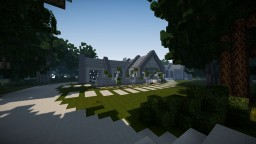 Modern Countryside House Minecraft Project