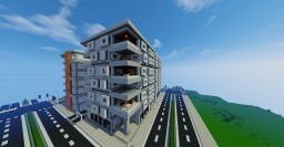 Lincoln Apartments on 14th and Lincoln (Capitol) Minecraft