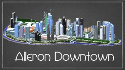 Alleron Downtown Minecraft