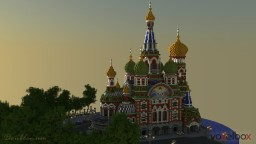 St Petersburg - Church of the Savior on Blood Minecraft