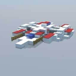 Almarian Fighter Ship Minecraft Map & Project