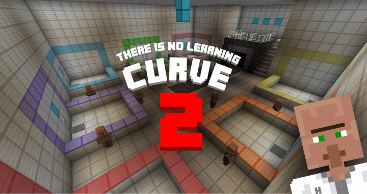 There Is No Learning Curve Player Coop Puzzle Map Minecraft - Minecraft maps fur 2 spieler