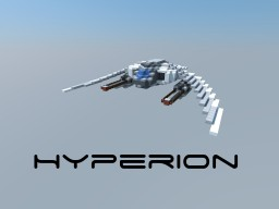 Hyperion - small starfighter (150 sub special) Minecraft Map & Project