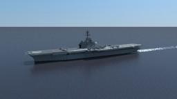 USS Intrepid (CV-11) 1974 Minecraft