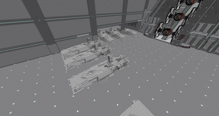 force awaken first order ships models
