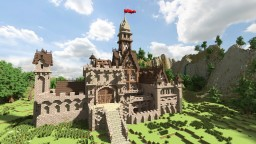 Medieval Project #3: Castle Minecraft Map & Project
