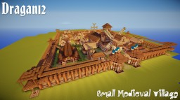 Small Medieval Village Minecraft Map & Project