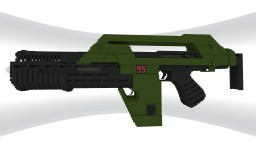 M41A Pulse Rifle Minecraft Project