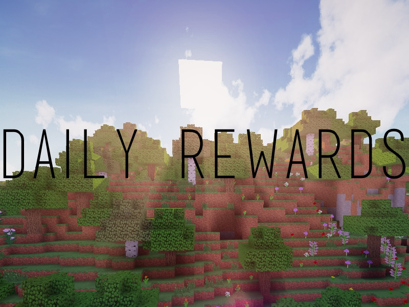 [Bukkit Plugin] Daily Rewards Minecraft Mod
