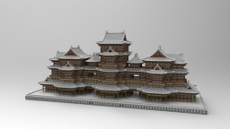 Chinese ancient architecture 3 Minecraft