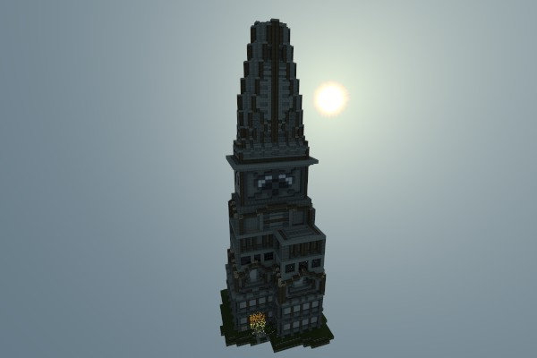 Medieval Tower Minecraft Project