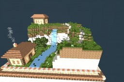 Small Hill Settlement Minecraft Map & Project