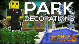 Park Decorations in two commands Minecraft Map & Project