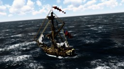 H.M.S. Celestè - ShipSide Minecraft Map & Project