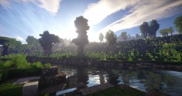 Riverland - realistic terrain Minecraft Map & Project