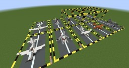 [Vehicles] Planes and helicopters [7 aircrafts] Minecraft Map & Project