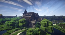 Small mideval church Minecraft Map & Project