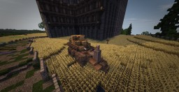 Simple Steampunkish Fantasy Cart Minecraft