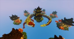 Oriental skywars map Minecraft