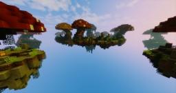 Mushroom skywars map Minecraft Project