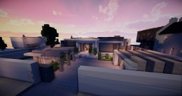 Modern house 6 Minecraft Map & Project