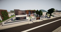 Modern house 7 Minecraft Map & Project