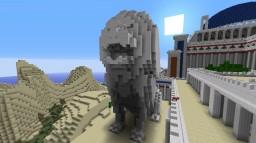 Lion Statue Minecraft Project