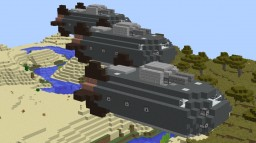 Kestrel Mk.I Corvette Minecraft