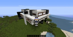 Modern Mountain Build Minecraft Project