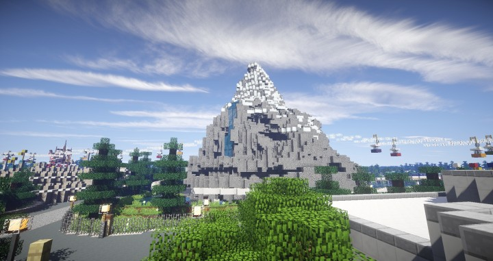 Disneyland 1965 Minecraft Project