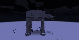 Star Wars AT-AT (HOTH) Minecraft Map & Project