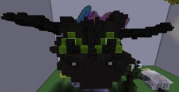 Toothless the Dragon (Original) Minecraft Project