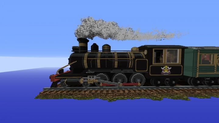 Left Side of Locomotive