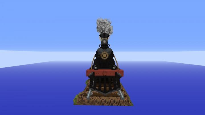Front of Locomotive