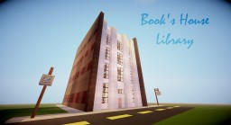 Book's House (Library) Minecraft Map & Project