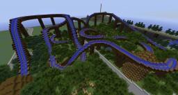 Minecraft Roller Coaster - Cascade Minecraft Map & Project
